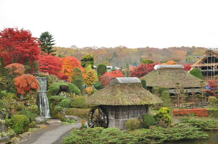 Image result for ngôi làng cổ oshino hakkai